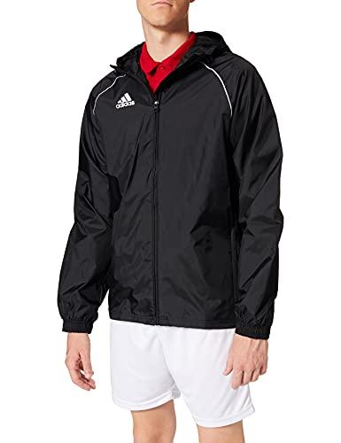 adidas CORE18 RN JKT Chaqueta Deportiva, Hombre, Negro (Black/White), M