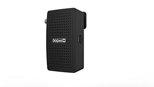 DIGIQUEST DGQ900 HD - Decoder Digitale terrestre con Funzione di videoregistratore, Nero