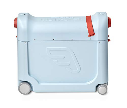 Jetkids by Stokke Kids Suitcase and Portable Bed, Blue Sky