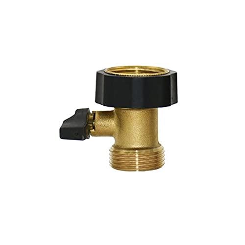 Latón hembra 3/4 a 1/2 3/4 pulgadas macho jardín grifo conector de agua válvula jardín grifo adaptador 1 Uds