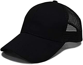 Ponytail Trucker Hats & Baseball Caps for Women, Adjustable, Sports, Fitness