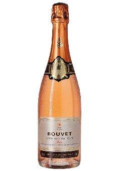 Rosé Brut Cremant de Loire AOC Bouvet Ladubay, trockener Cremant von der Loire