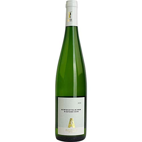 Gewürztraminer Alsace 2019 Alsace AC Hinterkirch Weißwein Vegan lieblich Domaine Emile Anstotz Frankreich 750ml-Fl (18,40€/L) BIO