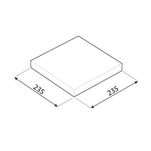 Regalbrett, Wandregal, Regalsysteme, Regalboden, Regale - FS 235x235 - Wenge
