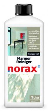 norax Marmor Reiniger 1 l - Frischt Farbe und Struktur auf, Schmutzablagerungen werden vermindert und Marmor wird unempfindlicher und optisch schöner