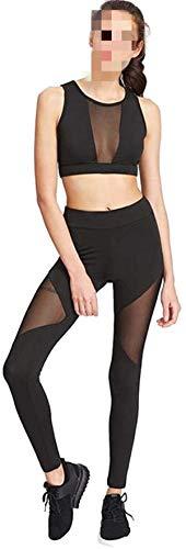 Avis N Sexy Mesh Yoga Pants for Women, Juniors Stretchy Skinny Leggings Sport Fitness Running Pants