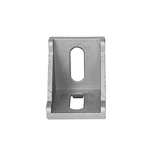 Corner Stand 10pcs/25pcs Aluminum 2020 Corner Bracket Fittings 20x20x17mm Corner Angle Bracket for Connector Aluminium Profile CNC Router Reinforced Right Angle (Color : 25pcs)