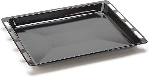 DREHFLEX - Backblech/Blech/Universalpfanne passend für diverse Herde von Bosch/Siemens/Constructa/Neff - passend für Teile-Nr. 00675876/675876-465 x 375 x 40mm - emailliert