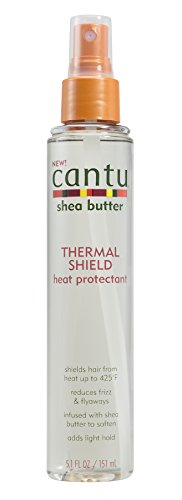 Cantu Shea Butter Thermal Shield Heat Protectant, 5.1 Fluid Ounce