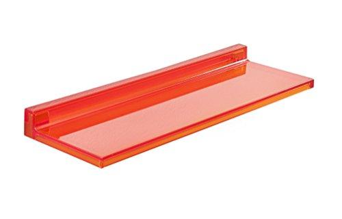 Kartell Shelfish Estante, Naranja Oscuro, 15x4x45 cm