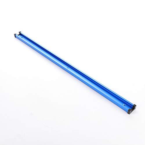 jeerbly Ranura en T de 400 mm T-Track inglete pista de la plantilla de la ranura de la fijación de la ranura de 30 x 12,8 mm para la sierra de mesa de la herramienta de carpintería de la mesa