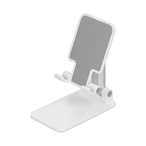 YIFengFurun Soporte de teléfono, aleación telescópica inclinable, ajustable y plegable, para soporte de tableta de escritorio para teléfono móvil de interior
