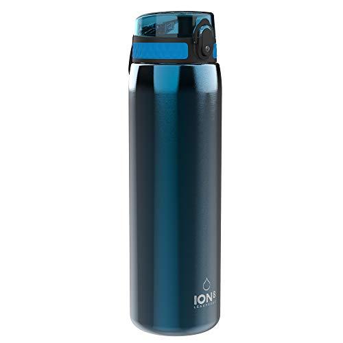 Ion8 Étanche Gourde Inox Sport 1 litre, 1200ml (40oz), Bleu