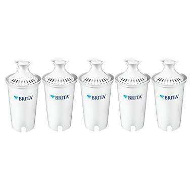 Brita Standard  Replacement Filters for Pitchers and Dispensers - BPA Free - 5 Count