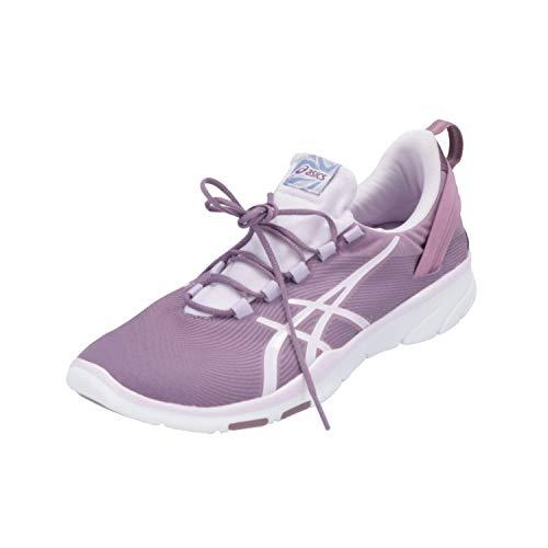ASICS Gel-FIT SANA 2 Damen Sportschuhe Lila Sneaker Turn Schuhe, Größe:EUR 44 (UK 9.5)