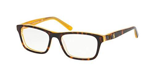 Ralph Lauren POLO 0PP8536 Monturas de gafas, Top Havana On Yellow, 49 para Hombre