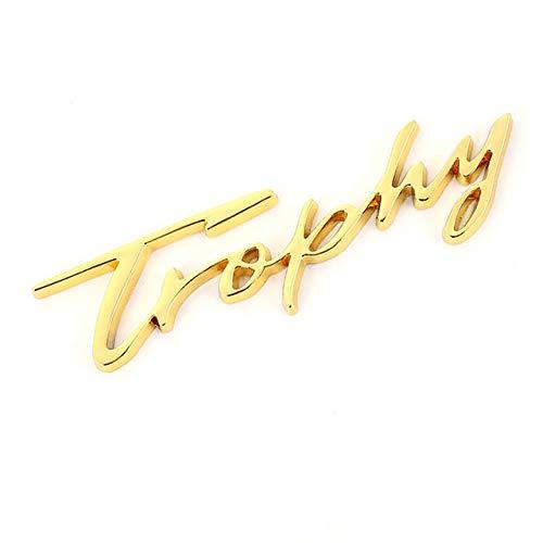 bester der welt 3D Metal Trophy Autoaufkleber mit Relax Today Logo Emblem Kofferraumabzeichen Autoaufkleber,… 2021