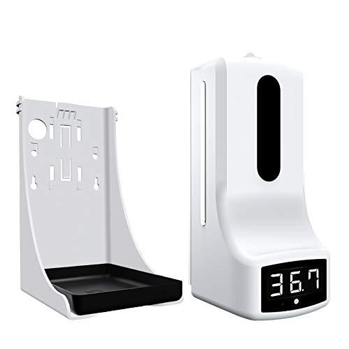 LENVHFKJ Termómetro de Pared de 1000 ml con dispensador de jabón y Alarma, Adecuado para Oficina, Escuela de hogar y Comunidad (Color : K9)