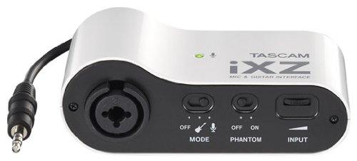 Tascam iXZ Mikrofon und Instrument Audio Interface für iOS-Mobilgeräte, iPhone, iPod und iPad