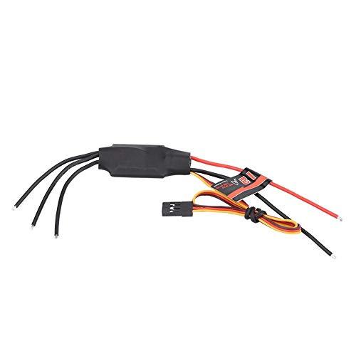 Dilwe RC Drone ESC, EMAX Simon Serie BLHeli 12A 20A 30A ESC 2-3S Batterie für 130-210mm Racing Drone RC Part(12A)