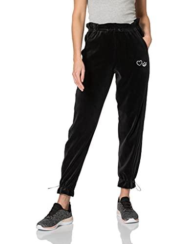 adidas Spodnie dresowe damskie Czarny 42