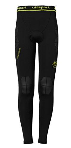 uhlsport Erwachsene BIONIKFRAME LONGTIGHT T-Shirt, Schwarz/Fluo Gelb, S