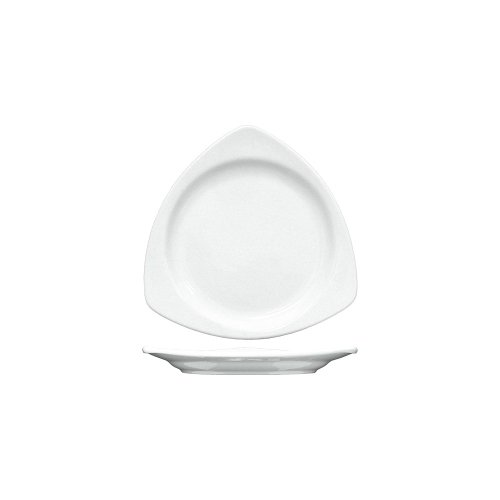International Tableware TR-10-EW Euro White 10.5' Plate - 12 / CS