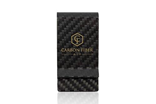 Real Carbon Fiber Money Clip by Carbon Fiber & Co.