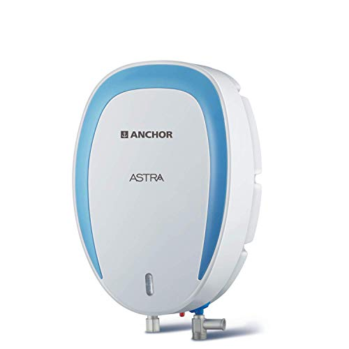 Anchor by Panasonic Astra 3L 3KW Instant Water Heater (White and Blue)