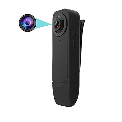 Mini Cámara Espía Oculta, HD 1080P Videocámara Video Audio Grabadora Portátil, Micro DV Cámara de acción Digital, Camara Seguridad Pequeña Inalambrica Interior/Exterior