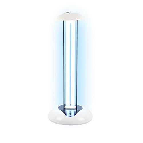 UV-Licht keimtötende Fernbedienung Timer 36 Watt Tischlampe töten 99,9% Schimmelpilz Bakterien, Keime, Staubmilben und Viren, helfen, Allergien gegen Milben zu reduzieren (ohne Ozon)