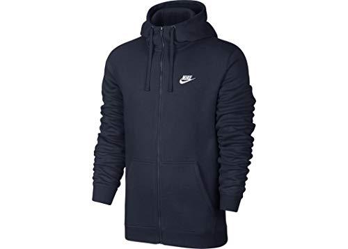 Nike Sportswear - Felpa con cappuccio e zip intera da uomo - multicolore - M
