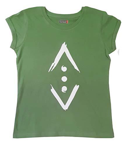 Cukur Merchandising Women's T-Shirt Çukur Olive Licensed Product Original - Green - Large