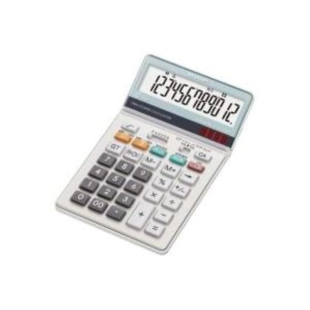 コットンフローティング常に(業務用2セット)シャープ SHARP 中型電卓 EL-N732KX ds-1466654