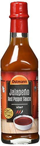 Ostmann Gewürze Jalapeño Würzsauce scharf, 4er Pack (4 x 104 g)