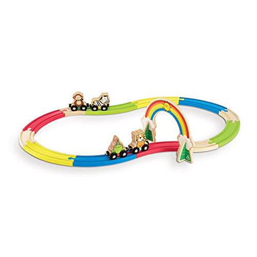 Early Learning Centre Wooden Animal Train Set