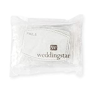 Weddingstar PM 2.5 Protective Mask Filters 5-layer Carbon Technology