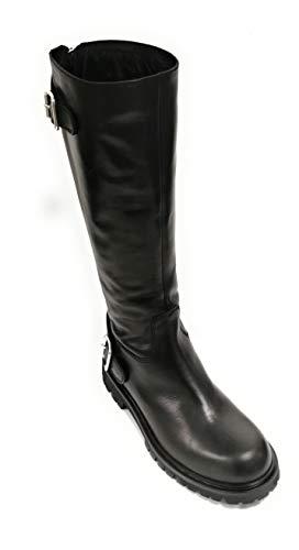 Diesel Black Gold AMALTHEA I00468 PR013 T8013 Designer Damen Schuhe Stiefel Women Shoes Biker Boots Schwarz (Numeric_38)
