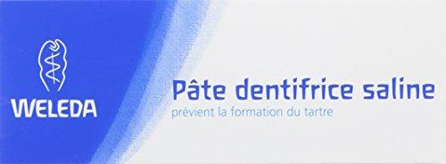 Weleda Pâte Dentifrice Saline 75 ml Lot de 2