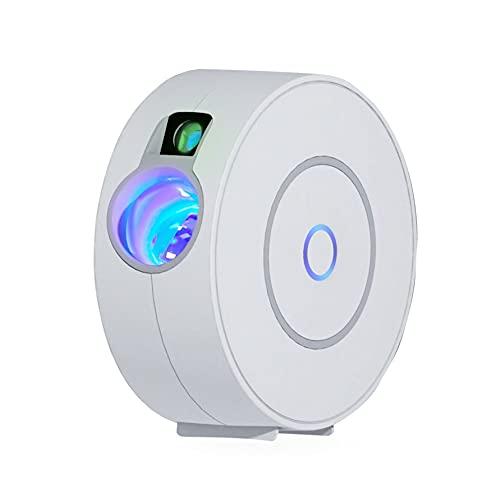 Proyector de estrella giratoria LED, proyector LED inteligente planetario, luz nocturna, atenuación/control de voz/conexión WiFi/temporizador, dormitorio, regalos, Pascua.