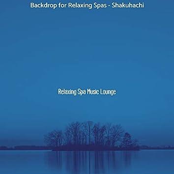 Backdrop for Relaxing Spas - Shakuhachi