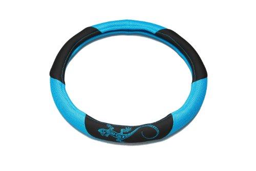 UNITEC 75385 Lenkradhülle Reptilia, blau
