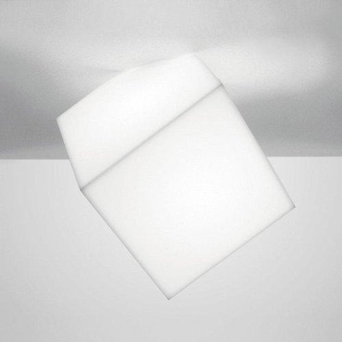 Artemide Edge Wandleuchte - Deckenleuchte weiss Groesse 2 = 30x30cm
