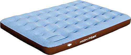 Simex Sport 40067 Comfort Plus - Colchón Doble Hinchable, Color marrón y Azul