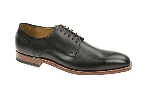 Gordon & Bros Milan 4374-F Herrenschuhe Herren Businessschuhe, Schnürhalbschuhe, Anzugsschuhe, Derby Schuhe, Goodyear Schwarz (Torino Black Antique tan), EU 46
