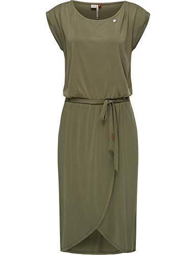 Ragwear Damen Kleid Dress Sommerkleid Strandkleid Jerseykleid Freizeitkleid Ethany Olive Gr. L
