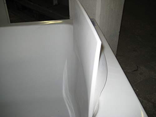 Designer Badewannen-Nackenkissen rechteckig, weiß Artikelnr. E 6965-00 NEU