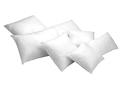 Pack de 2 unidades de relleno de cojín. Tejido sin tejer hipoalergénico (TNT). Fibra hueca siliconada de gran volumen y recuperación, con una firmeza media/alta. Recomendación de lavado máximo a 40º. Producto fabricado en España.