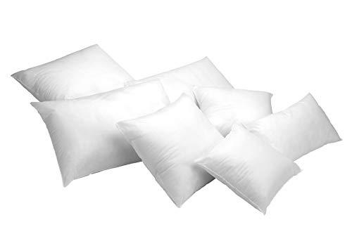 Todocama – Pack de 2 Unidades. Relleno de cojín con Fibra Hueca siliconada de Gran Volumen. Hipoalergénicas. (Todas Las Medidas Disponibles). (Pack 2 Unidades 40x40 cm)