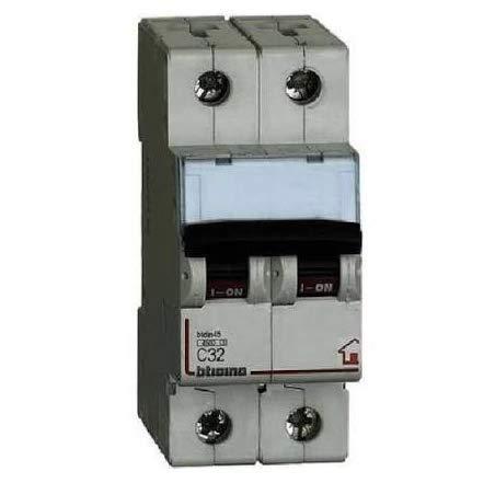 Bticino Interruttore magnetotermico 2P 16A FC820C16 4500 Btdin45